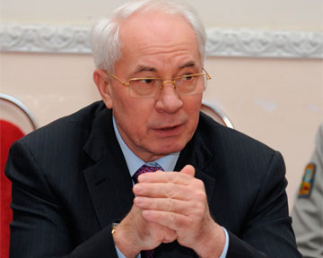 Азаров: Украина не хочет увеличивать цены на газ для народонаселенья