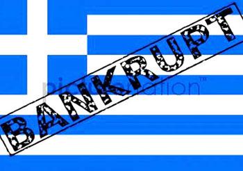 Вероятное банкротство Греции.